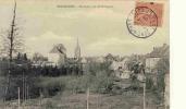 28Z91-SEN-8- SENONCHES -  Panorama Rue De Pontgouin  - Imprimerie Massot - Autres Communes