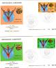GABON - FDC - Yvert N° 358 Et 359 - Jeux D'Afrique Centrale Sport - Gabon (1960-...)