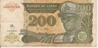 1994 200 Nouveaux Zaïres - Zaïre