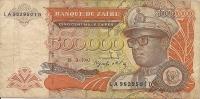 1992 500.000  Zaïres - Zaïre