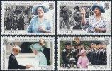 Tuvalu - 1999 -100 Ans Reine Mere - 4v Neufs ** // Mnh - Tuvalu