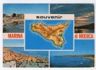 MARINA DI MODICA (RAGUSA) - Souvenir. Vedute Varie. Viaggiata 1985 - Modica