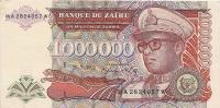 1992 1.000.000  Zaïres Neuf - Zaïre