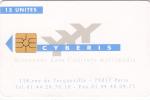 FRANCE - Cyberis Internet Card 15 Units, Recto Cyberis 1(verso IBM), Uirage 1000, Sed - Frankrijk