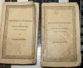 ORAZIONI DI CICERONE, 2 LIBRETTI EDIZIONE 1828 - Libri Antichi