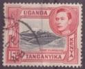 Kenya Uganda Tanzania Tanding 13.1/4 X 13.3/4 - Kenya, Uganda & Tanganyika