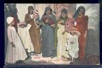 103550-Egypt, Cairo, Group Of Arabic Women, Ethnic Clothing, Cairo Postcard Trust No 54443 - Volkeren & Culturen