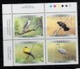 Birds.Oseaux. Canada.Block Of 4 - Uccelli