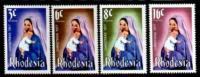 RHODESIA 1977 MNH Christmas 200-203 - Christmas