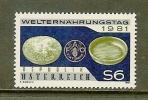 AUSTRIA 1981 MNH Stamp(s) F.A.O. 1686 - 1945-.... 2nd Republic