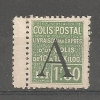 FRANCE COLIS POSTAUX. N° 86 *  T.B. - Spoorwegzegels