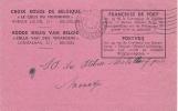 Croix Rouge De Belgique - Le Colis Du Prisonnier - Accusé De Reception D´un Colis N° 528325 - WW II
