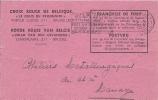 Croix Rouge De Belgique - Le Colis Du Prisonnier - Accusé De Reception D´un Colis N° 528139 - WW II