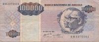 1995 100.000 Kwanzas Très Bon état - Angola