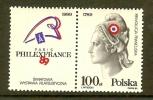 POLAND 1989 MNH Stamp(s) Marianne Sg3216 - 1944-.... Republic