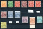Australia 1926-30 King George V Small Multiple Watermark P13.5 Set Mostly MLH  SG 94-104 - Mint Stamps