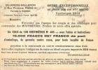 VENDANGES 1953 PUBLICITE MUSTIMETRES DUJARDIN SALLERON PARIS - Vignes