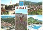 Alpes De Haute Provence : DIGNE :  Vue - Digne