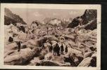 CPA 74.- CHAMONIX-BONT-BLANC- Sur La Mer De Glace- Scènes & Types.-- .-- FEVR-SUP-2012- 070 - Chamonix-Mont-Blanc
