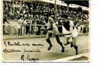TOP TOP 1942 ANTIBES  CHAMPIONNAT DES 110M HAIES PUZAZON DEDICACE A BOCKEL - Gehandtekende Foto's