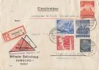 DR R-NN-Brief Mif Minr.516,742,755,756,758 Hamburg 19.5.41 - Deutschland