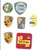 COLLECTION DES MARQUES AUTOMOBILES N°5 7 6 33 34 PORSCHE OPEL LANCIA ALFA ROMEO AUTOBIANCHI - Vieux Papiers