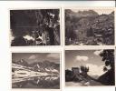 VALLE D´AOSTA  - Champorcher -N. 4 Foto  Formato  8,50 X 11  Documentate - Con Chardoney E Miserin - Aosta