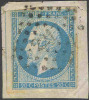 # France   15b, Used,   Michel 13 I.d, On Piece,  (fr015b-2,  [16-AB.E - 1853-1860 Napoleon III