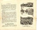 LA BOURBOULE 1910 Guide Touristique (8 P.) LES EAUX La Ville - Voyages