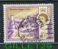 BERMUDA STAMP - BERMUDA COTTAGE, C. 1705 - SCOTT No 182A, 10d, 1965 - USE - - Bermudes
