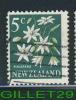 NEW ZEALAND, STAMP - FLOWER, PIKIARERO - 5c, - USE - - Unclassified
