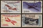 FRANCE 1954   YT PA 30, 31, 32, 33  Air Post, Prototypes - 1927-1959 Gebraucht