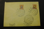 Russia With Type A6 15r And 35r Stamps Airplane Special Cancel 1958  A04s - Russia & USSR