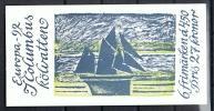 1992 - C. Columbus - Zweden - Booklet, Carnet, MH 169 - Côte Mi 2011 = 8,50€ - Europa-CEPT