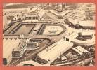 CPA EXPO BRUXELLES 1935 - VUE PANORAMIQUE D AVION   D APRES PEINTRE CASSIERS - Expositions Universelles
