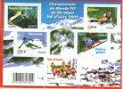 Feuillet 2009 Neuf Championnats Du Monde FIS De Ski Alpin Val D´Isère 2009 - Neufs
