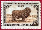 Argentina. 1945 (**) Carnero. Ram. Lanas. Wool - Argentinien