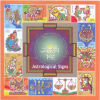 India 2010 ZODIAC ASTRONOMY ASTROLOGICAL SIGNS Madhubani Painting Art 12v SS Stamps MNH Michel B79 - India
