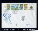 San Marino - Fdc Venetia 1990 - Anno Europeo Del Turismo BF - FDC