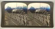 Japan (~1900´s) Funeral Procession - Hitachi Maru (´Perfec´ Stereograph - H.C. White) - Stereoscoop