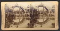 Japan (~1900´s) Semi-Circulair Bridge In Quaint (Underwood - Strohmeyer & Wyman) - Stereoscoop