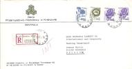 Lettre De Banque, Recommandée De Krakow (PL) à Bruxelles (B) - 1944-.... République