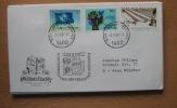 UNO 509 Wien 12.11.87 Köln Philalelia 87 - Vienna - Oficina De Las Naciones Unidas