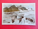 Real Photo---     Mt.  Athabasca & Tongue Of Athabasca Glacier Columbia Icefield Alberta       ========  Ref 424 - Unclassified