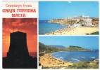 MALTA-GREETINGS FROM GHAJN TUFFIEHA / THEMATIC STAMP-UNIFORM - Malta