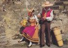 Fête Des Vignerons Vevey 1977 - Vendangeur Et Vendangeuse, Costumes Jean Monod  - Cp 10 X 15 - Manifestations