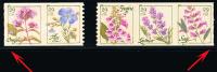 Etats-Unis / United States (Scott No.4517a - Wild Flowers) (**) Coil Strip Start And End - United States