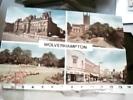 ENGLAND  WOLVERHAMPTON CARD STAFFORDSHIRE MULTI  VUES VB1973 DQ7386 - Wolverhampton