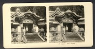 Japan (~1900´s) Temple Entrance (NPG) - Stereoscoop
