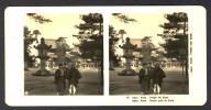 Japan (~1900´s) Temple Near Kyoto / Kioto (NPG) - Stereoscoop